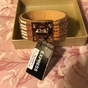 Express cuff bracelet NWT